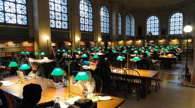 Image of Boston Public Library