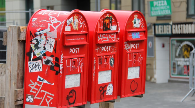 Image of postboxes
