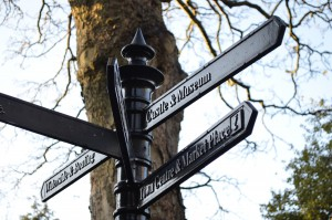 Image of london sign post
